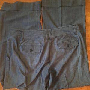 Michael Kors 14 wide leg career pants